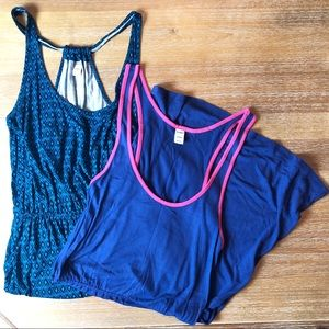 Old Navy Blue Tank Dresses - Listing for the pair